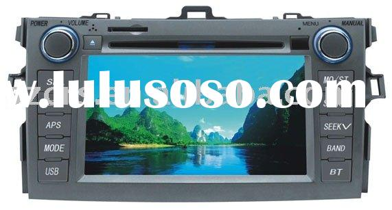 "7"" car dvd player for Toyota Corolla Special in dash dvd player"