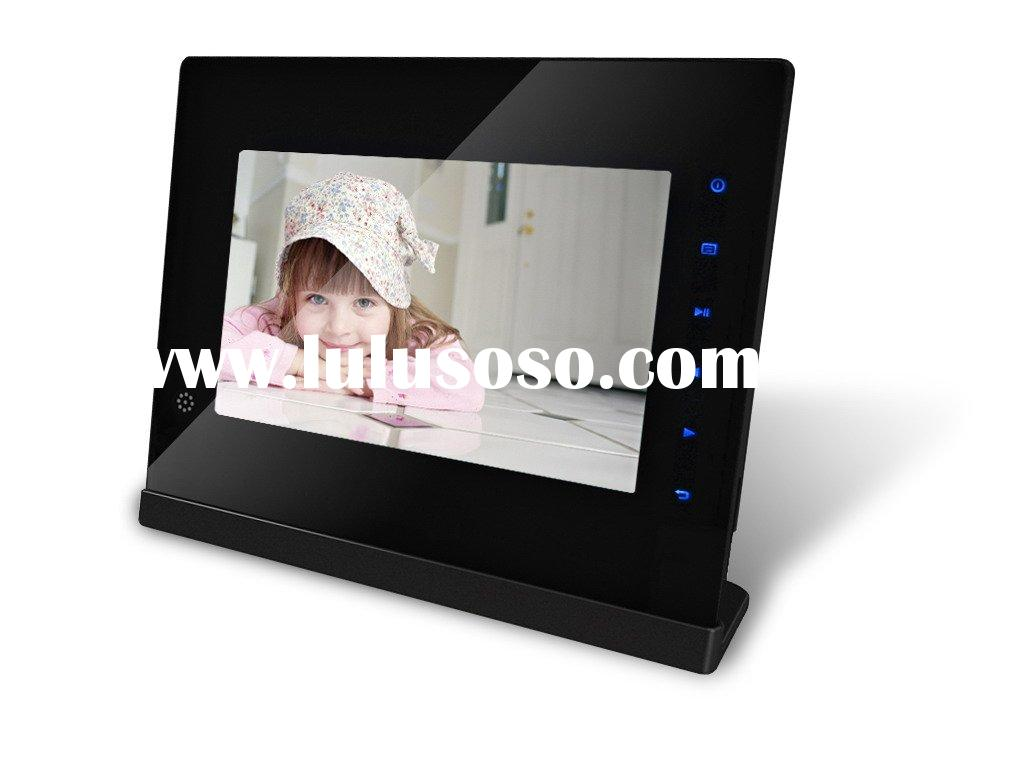 7 inch ultra slim digital photo frame with touch screen