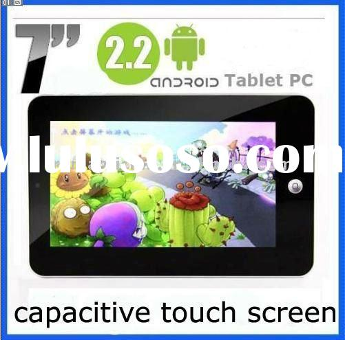7inch Android 2.2 capacitive touch screen Cortex-A9 support USB 3G Dongle, EVO/WCDMA,Bluetooth 2.1