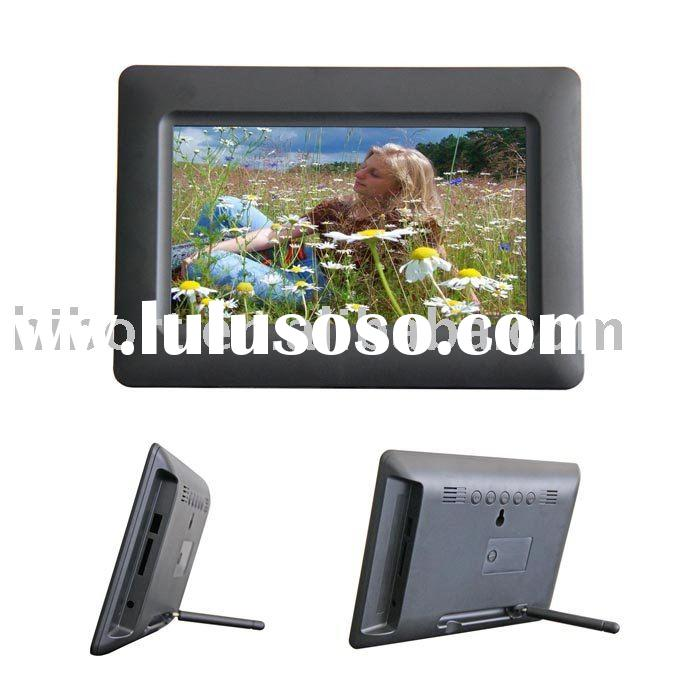 7inch battery powered digital photo frame