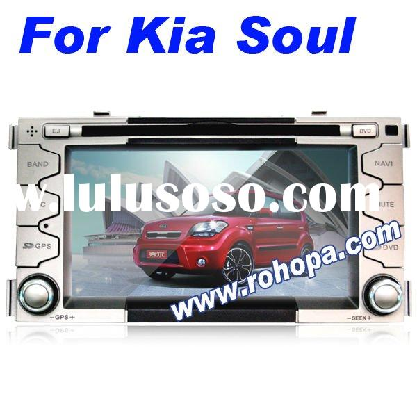 7inch superior portable car dvd android player with bluetooth,gps,tv tuner For Kia soul