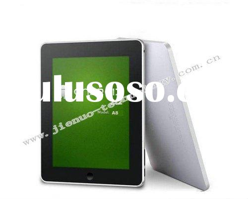 8 inch mid pad,android 2.2 computer tablet pc,Cortex A8,support 3G,WiFi,Ebook