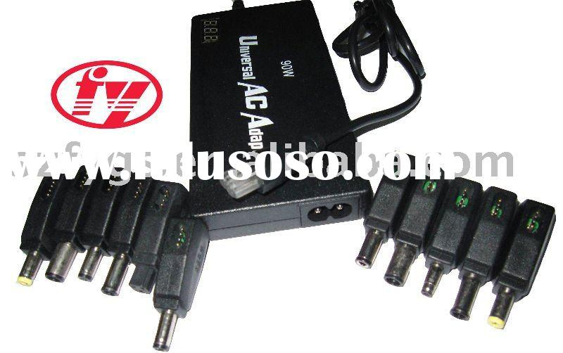 90W Auto Universal AC Adapter, with LCD Display