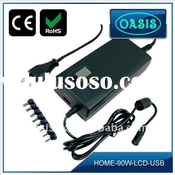 90W LCD player universal ac adapter for Laptop