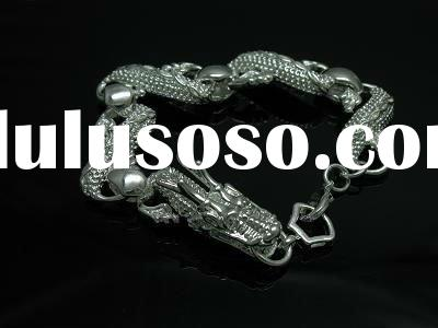 925 sterling silver jewelry,925 silver dragon bracelet,fashion bracelet
