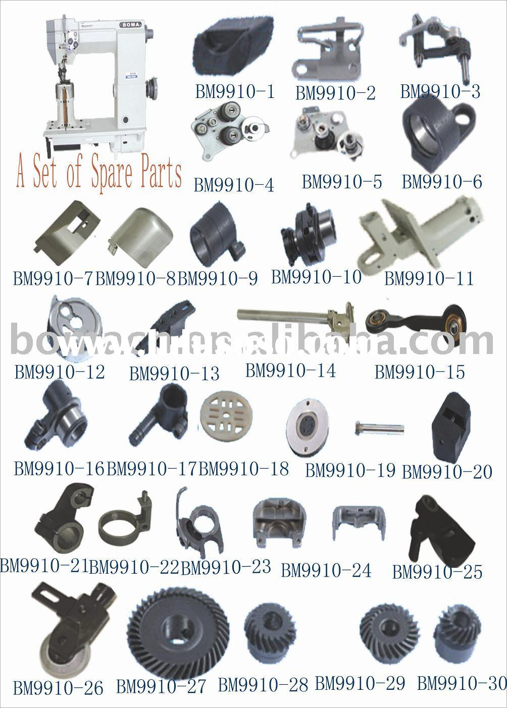 9910 Roller-feed Post-bed Sewing Machine Spare Parts(Sewing Machine Spare Parts, industrial sewing m