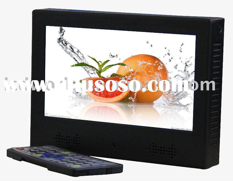 9 inch LCD Ads Kiosk with Motion Sensor