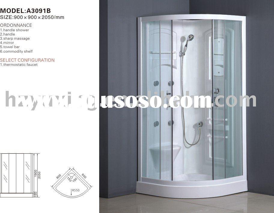 A3091B HydroMassage steam shower cabin,bathroom,sanitary ware,abs acrylic shower,luxury steam room,