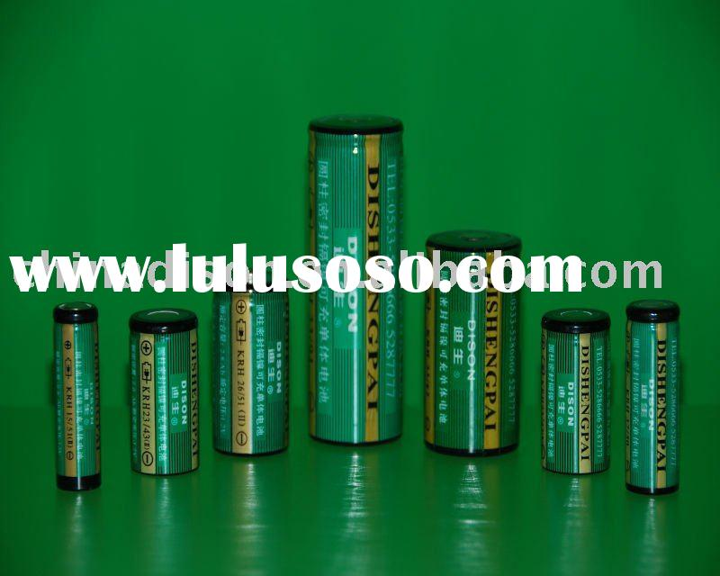 AAA,AA,A,SC,C,D,F,M NI-Cad standard rechargeable battery cell