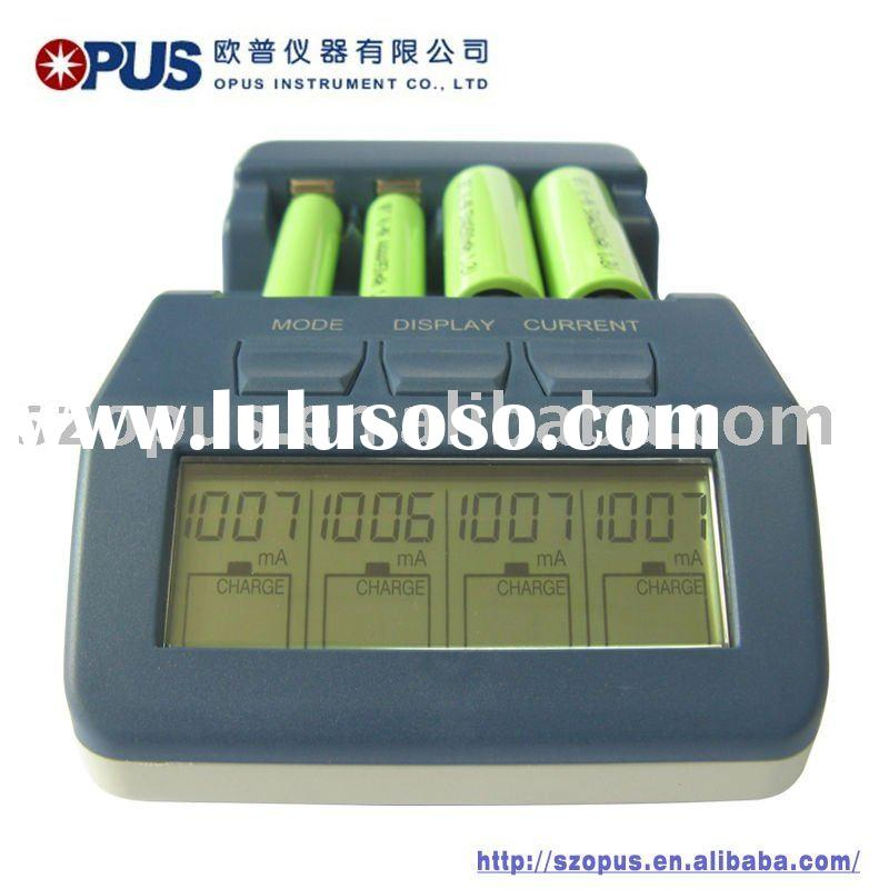 AA/AAA NiMH/NiCD LCD battery charger
