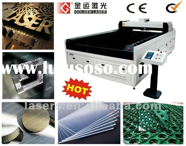 ABS Plastic,Rubber,Resin,Plexiglas,Acrylic,Veneer MDF Wood Laser Cutting Machine For Sale