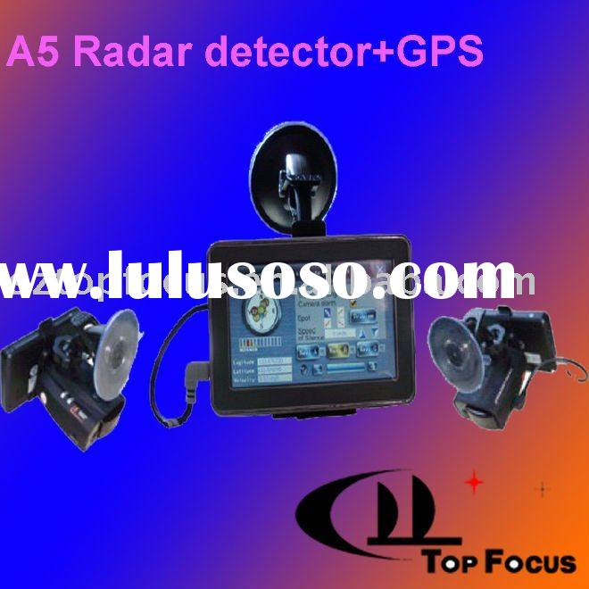 ALL IN ONE RADAR DETECTOR GPS TRACKING SYSTEM