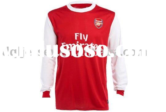 ARSENAL HOME 10 11 long sleeve soccer jersey