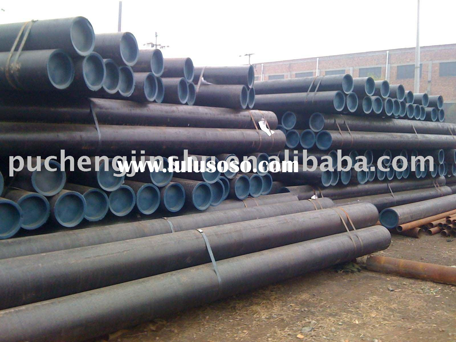 ASTM A106B/A53 seamless steel pipe