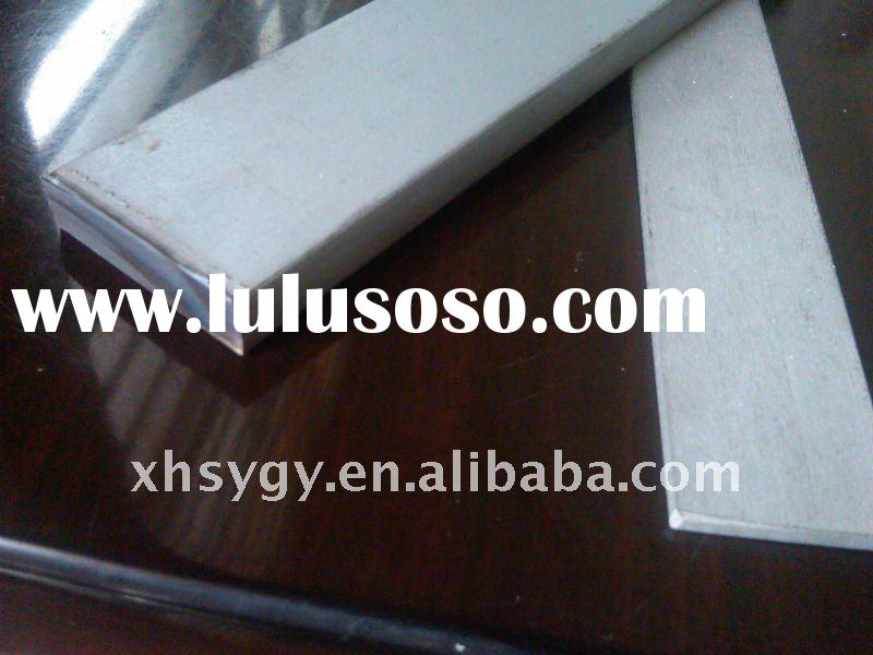 ASTM stainless steel flat bar (polished)