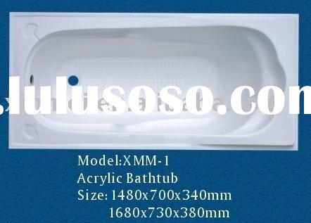 Acrylic Bathtub,free standing bathtub, bathtub,sanitary ware, common bathtub,plastic bathtub, tub