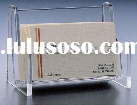 Acrylic Business Card Holder,Perspex Name Card Display,Plexiglass Name Card Case