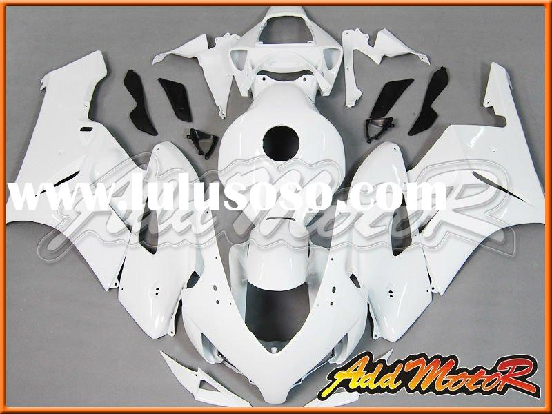 Aftermarket White Motorcycle Fairings For CBR1000RR 2004-2005 H1408