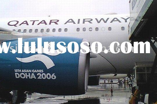 Air Freight : from Guangzhou to Abu Dhabi / Bahrain /Beirut by Qatar Airways / QR