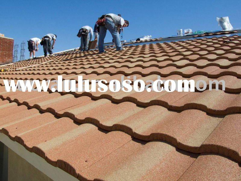 Al-Zn stone coated roof sheets