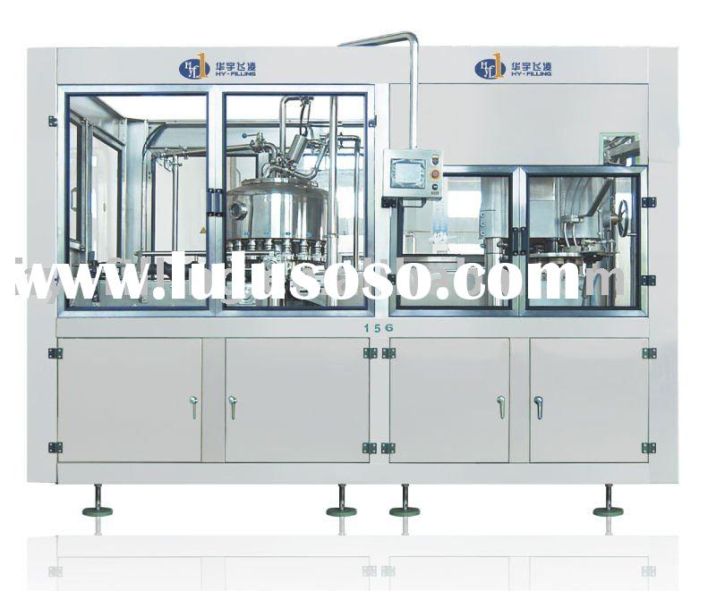 Aluminium can juice filling and seaming machine