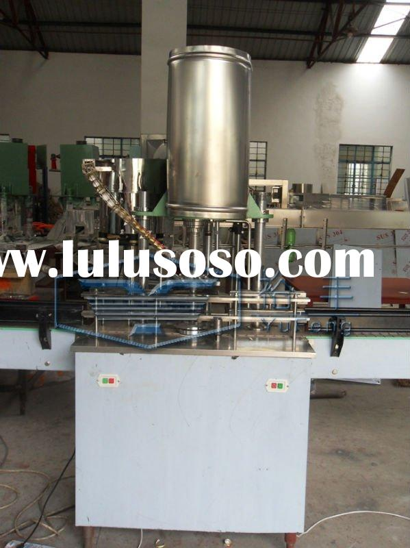 Aluminium capping machine/bottle capper
