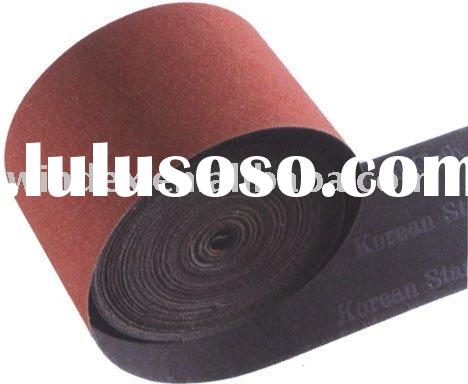 Aluminium oxide emery cloth roll