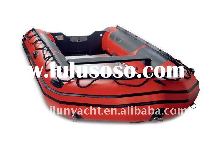 Aluminum Inflatable Boat With CE(HLL430)