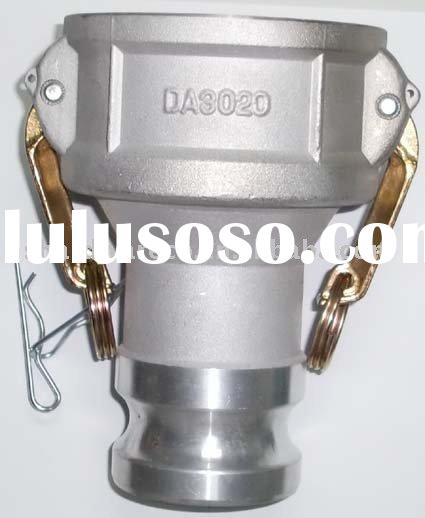 Aluminum camlock coupling(quick release camlock coupling,Dry Disconnect Camlock Couplings ) Part DA