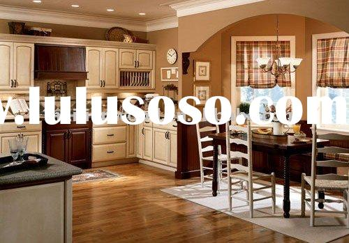 America style Solid wood Kitchen Cabinet Design