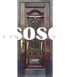American style bronze door,bronze door,artistic metal door,villa door,residential door,interior and