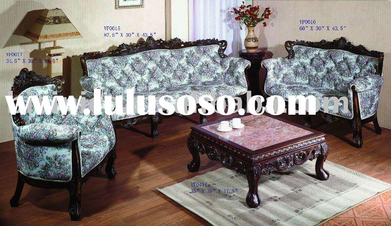 American style solid wood living room sofa set,single sofa,love sofa,three seat sofa,coffee table,an