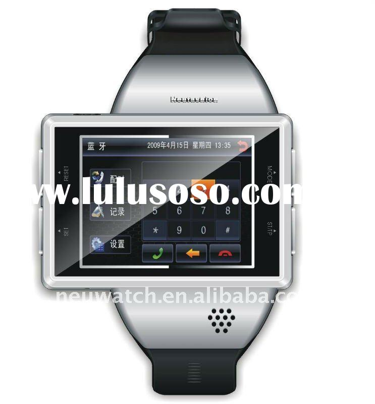 Android 2.2 OS wrist watch cell phone