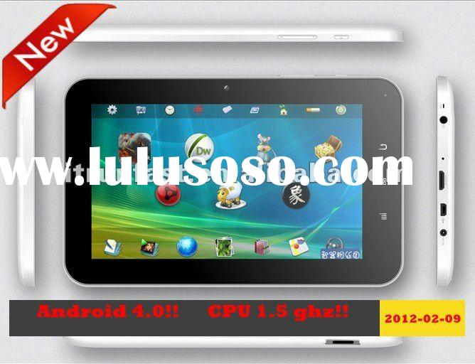 Android 4.0!! 7 inch Wifi 3G multi-touch android tablet