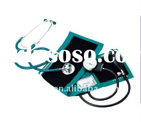 Aneriod Sphygmomanometer kit with dual head stethoscope(Blood pressure monitor)