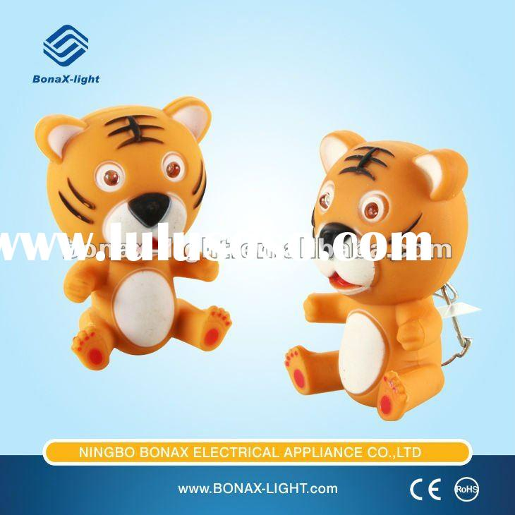 Animal Tiger Plastic Fashionable Electronic Light fashionable Promotional Gift