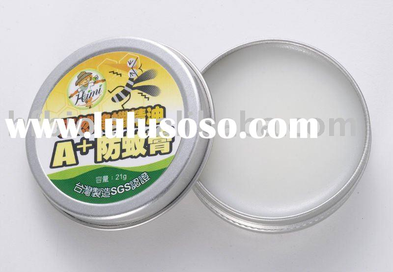 Anti mosquito - Natural mosquito (insect) Repellent Balm with Natural Essential Oil and Beeswax