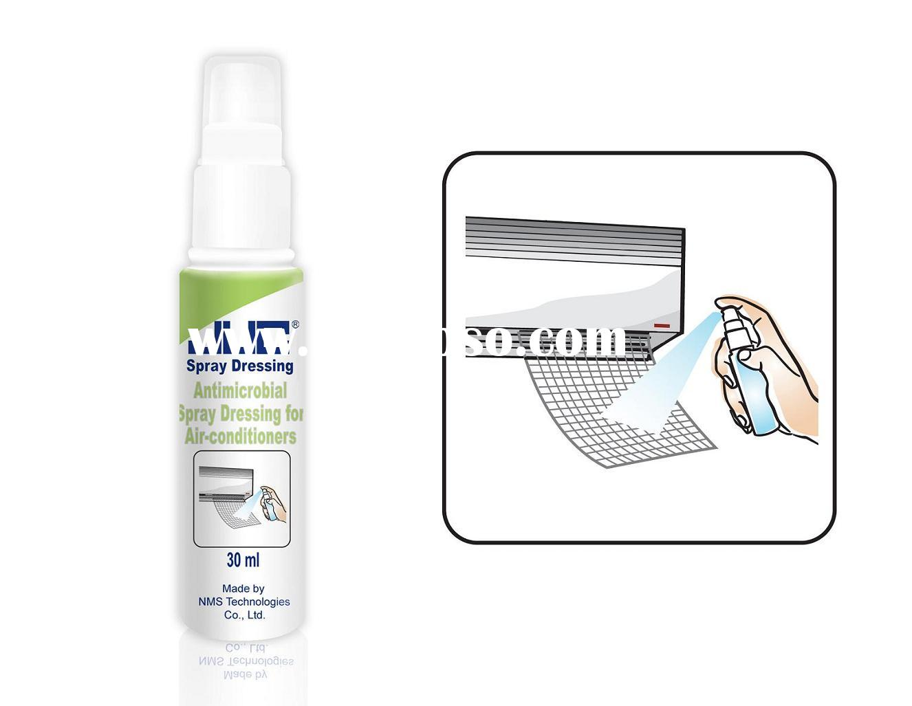 Antimicrobial Surface Cleaner Spray Dressing For Air-conditioners