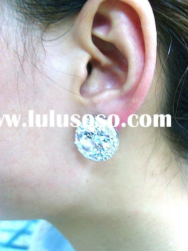 Arabic women dress fashion earring cubic zirconia jewelry