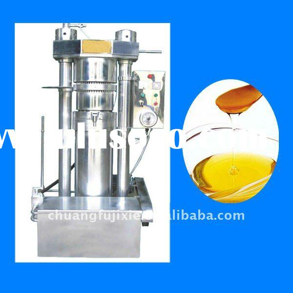 Automatic hydraulic oil press machine/sesame oil press