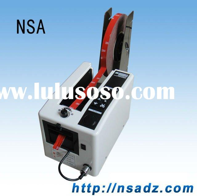 Automatic tape dispenser & label stripping machine