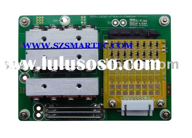 BMS Protection Circuit Module For 51.2V LiFePO4 Battery Pack.