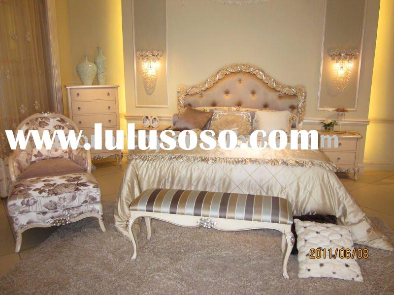 BW502D-16/17/18 excellent 2011 antique french style hand carving bedroom furniture