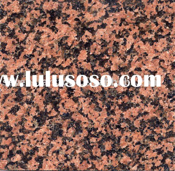 Balmoral Red granite slab tiles