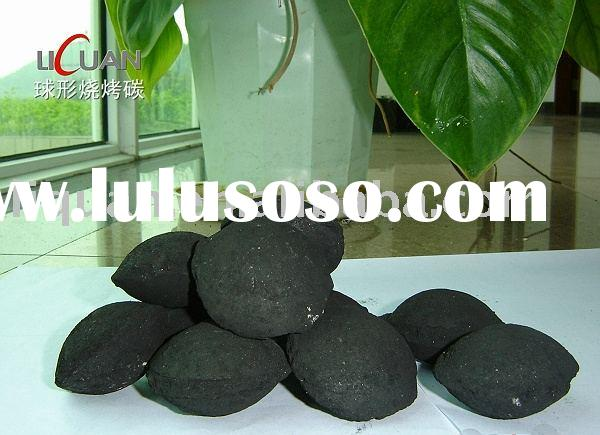 Barbecue charcoal, instant light charcoal briquette