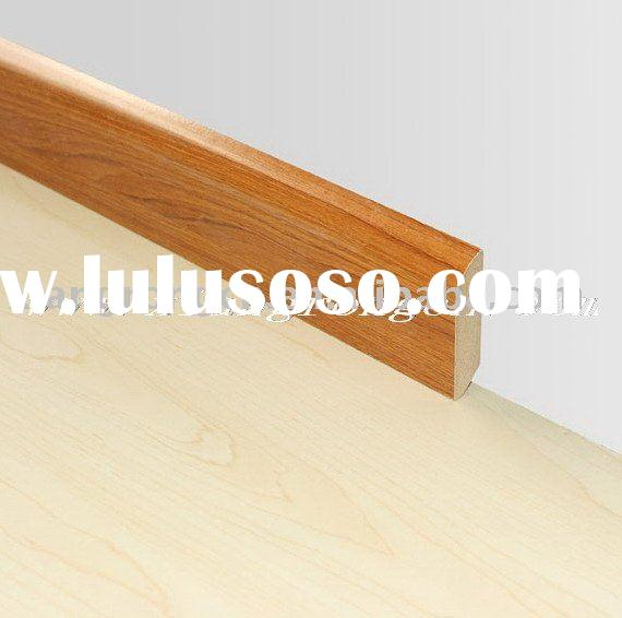 Baseboard for laminate flooring accessories