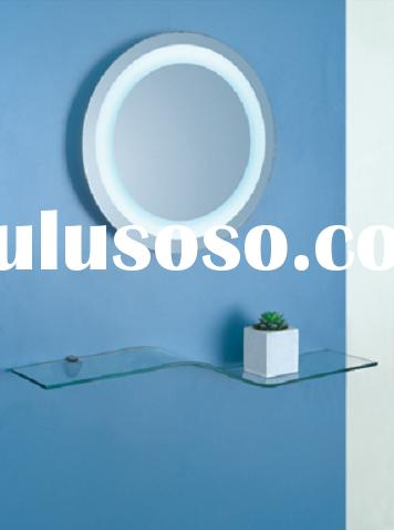 Bathroom mirror with LED light