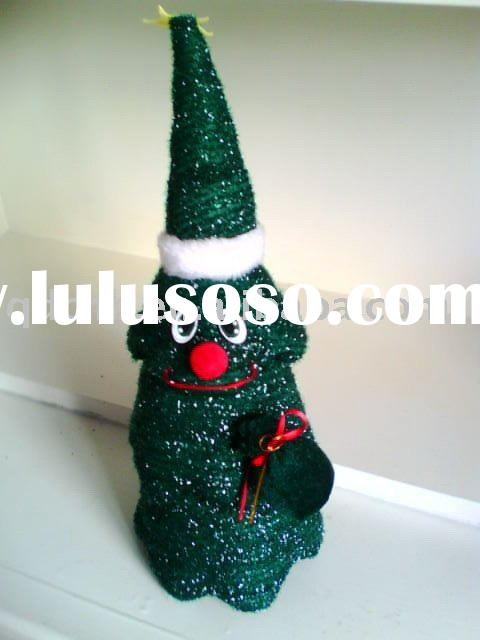 Battery Operated Circling Christmas Tree Dancing Singing B/O Christmas Tree