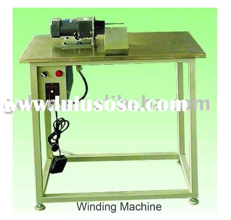 Battery electrode winding machine for lithium ion battery production equipment
