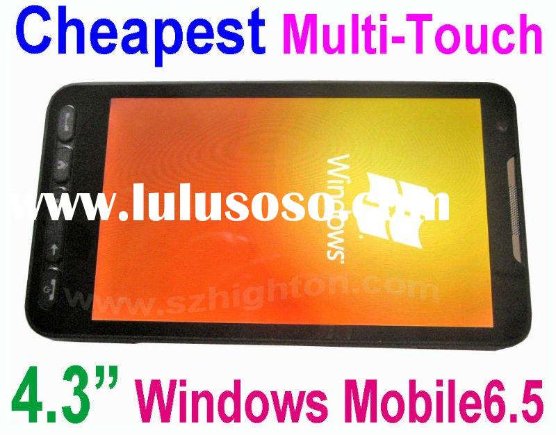 Best 4.3inch 4.3 inch Windows Mobile Cell Phone with windows mobile 6.5 OS